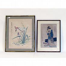 Two Asian Watercolors