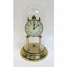 400 Day Clock With Dome, Lacking Pendulum