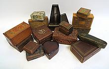 Assorted Vintage And Antique Boxes