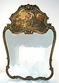 Antique Continental Trumeau Mirror