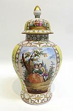 Lidded Porcelain Urn