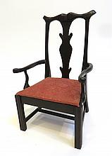 Child's Chippendale Style Chair
