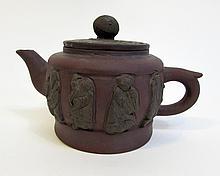 Eight Immortals Yixing Teapot