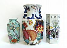 Three Larger Vases