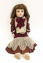 Large Late 19th C Dressed Doll