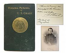 Personal Memoirs Of U. S. Grant With Autograph