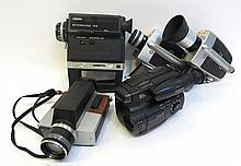 Movie Cameras, All In As Is Condition