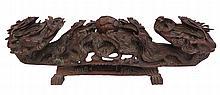 Carved Dragon Form Elaborate Ruyi