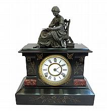 American 19th C. Mantel Clock