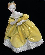 Victoria Royal Porcelain Figurine