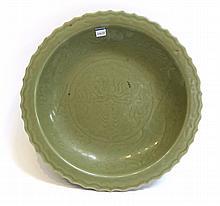 Celadon Longquan Porcelain Charger