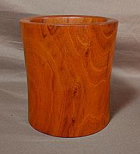 Huangyang Wood Brush Pot