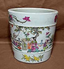 Famille Rose Tongzi Porcelain Jardinere