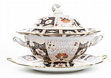 Royal Crown Derby china Old Imari soup tureen