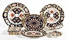 9 Royal Crown Derby china articles