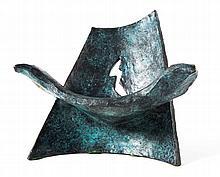 Wendell Castle. Chair-Shaped Sculpture, bronze