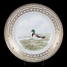 Royal Copenhagen Fauna Danica porcelain plate