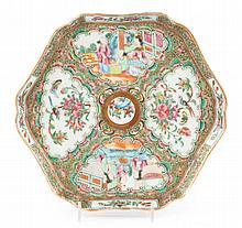 Chinese Export Rose Medallion tray