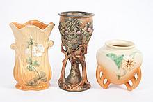 Three Weller art pottery articles