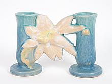 Roseville Clematis bud vase