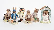 Six Royal Doulton & Royal Albert figurines