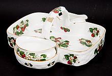 Hammersley china strawberry basket