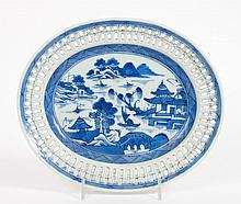 Chinese Export Canton porcelain dish