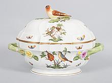Herend porcelain soup tureen