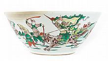 Chinese Export Famille Verte porcelain bowl