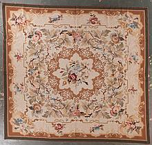 Needlepoint carpet, approx. 9.10 x 10