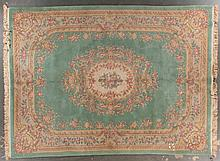 Chinese Aubusson carpet, approx. 8.10 x 12