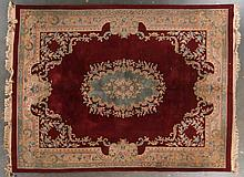 Chinese Aubusson carpet, approx. 9 x 11.9