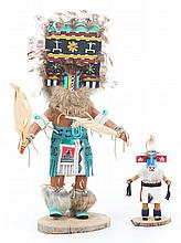 Two Native American Kachina dolls