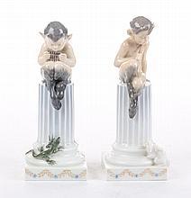 Two Christian Thomsen Royal Copenhagen figures