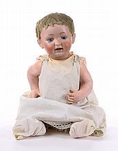Kestner bisque and composition doll