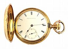 An 18K Pocket Watch by the American Watch Co.