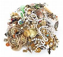 A Bag of Costume Jewelry