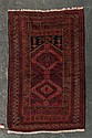 Semi-antique Belouchistan rug, Afghanistan, circa 1950, approx. 2.10 x 4.6