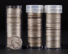 [US] 3 rolls Washington Quarters