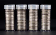 [US] 4 Rolls Washington Quarters