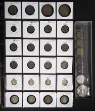 [World] Swiss-French Coin Sets, 1900-1971