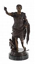 Grande Tour. Caesar of Augustus, bronze
