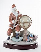 Lladro figural group: Christmas Journey