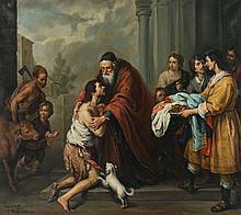 Antonis Karafyllakis, after Murillo. Prodigal Son