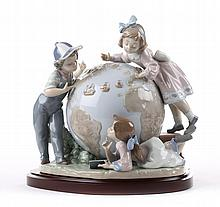 Lladro figural group: The Voyage of Columbus