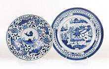 Chinese Export porcelain plate and bowl