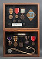 [United States] Two framed displays of medals