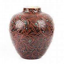 Max Lauger art pottery Juniper Vase