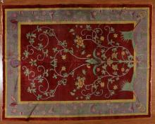 Antique Nichols Chinese carpet, China, circa 1925