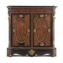 Napoleon III Boulle marquetry cabinet